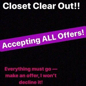 Other - Make an offer! I won't decline it